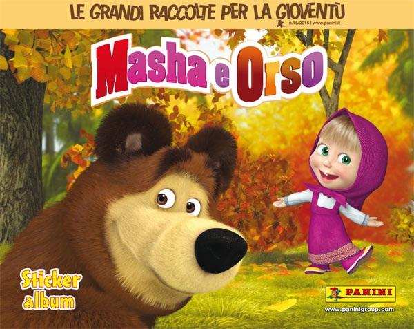 Masha Orso Album Panini Gratis A OasiPark