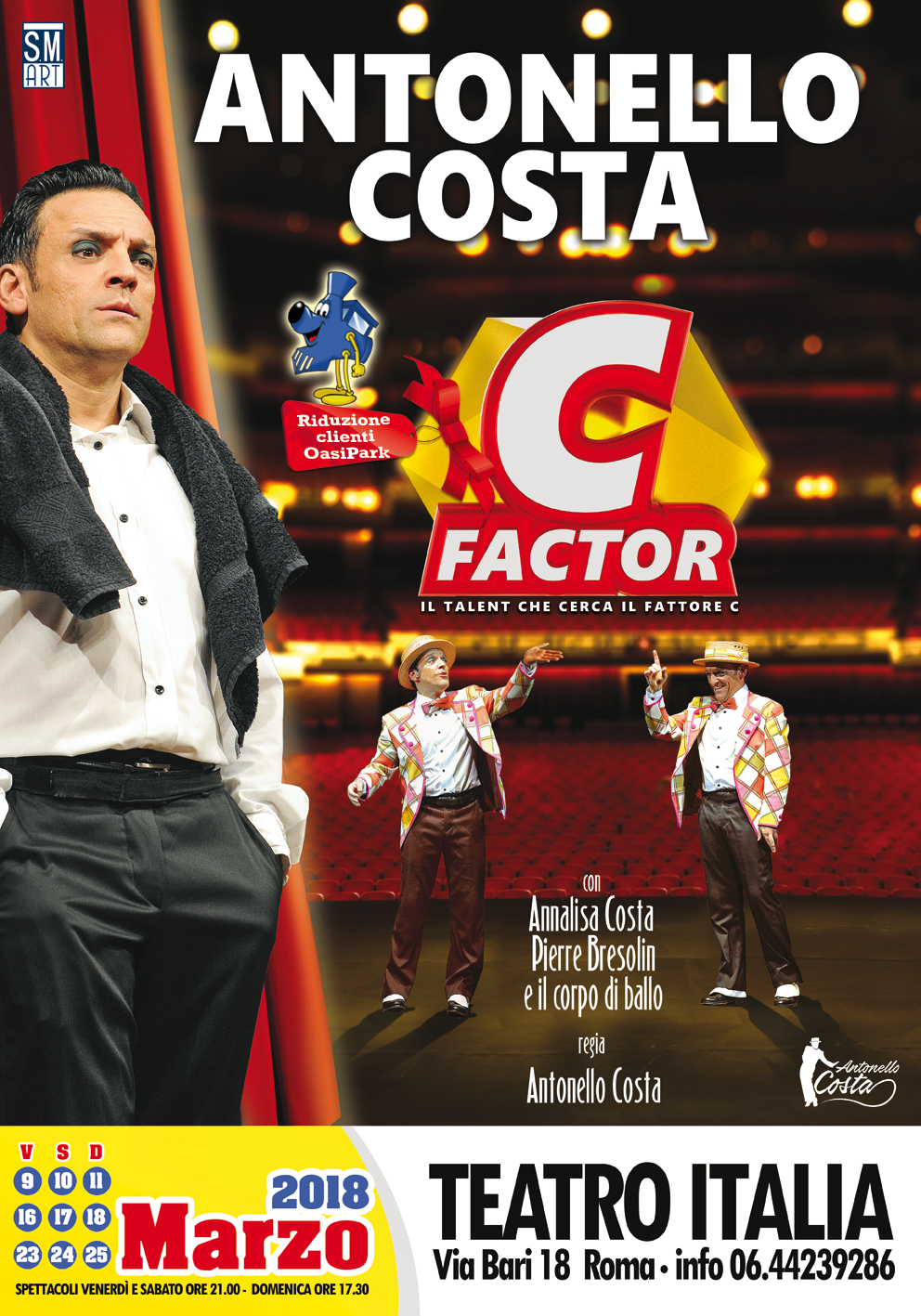 Antonello Costa C Factor