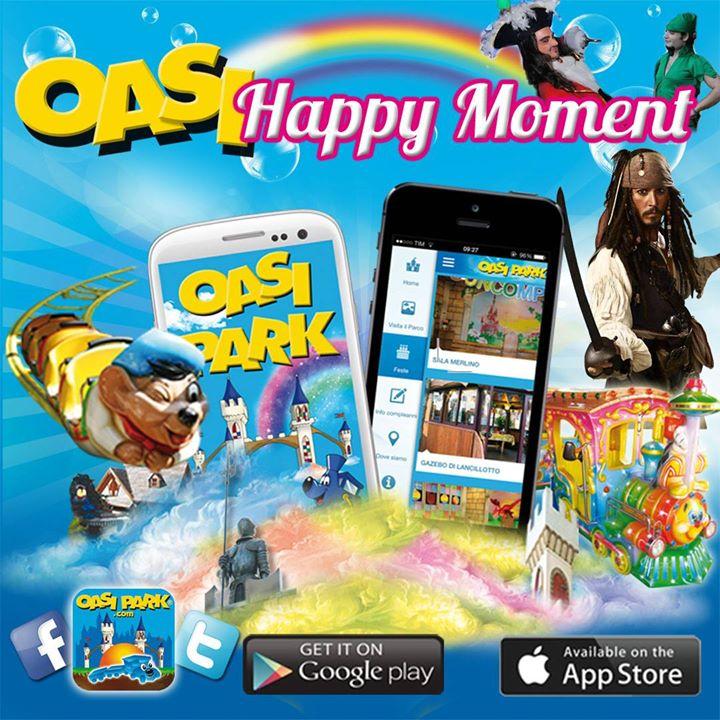 App Gratuita OasiPark Ti Fa Divertire Gratis