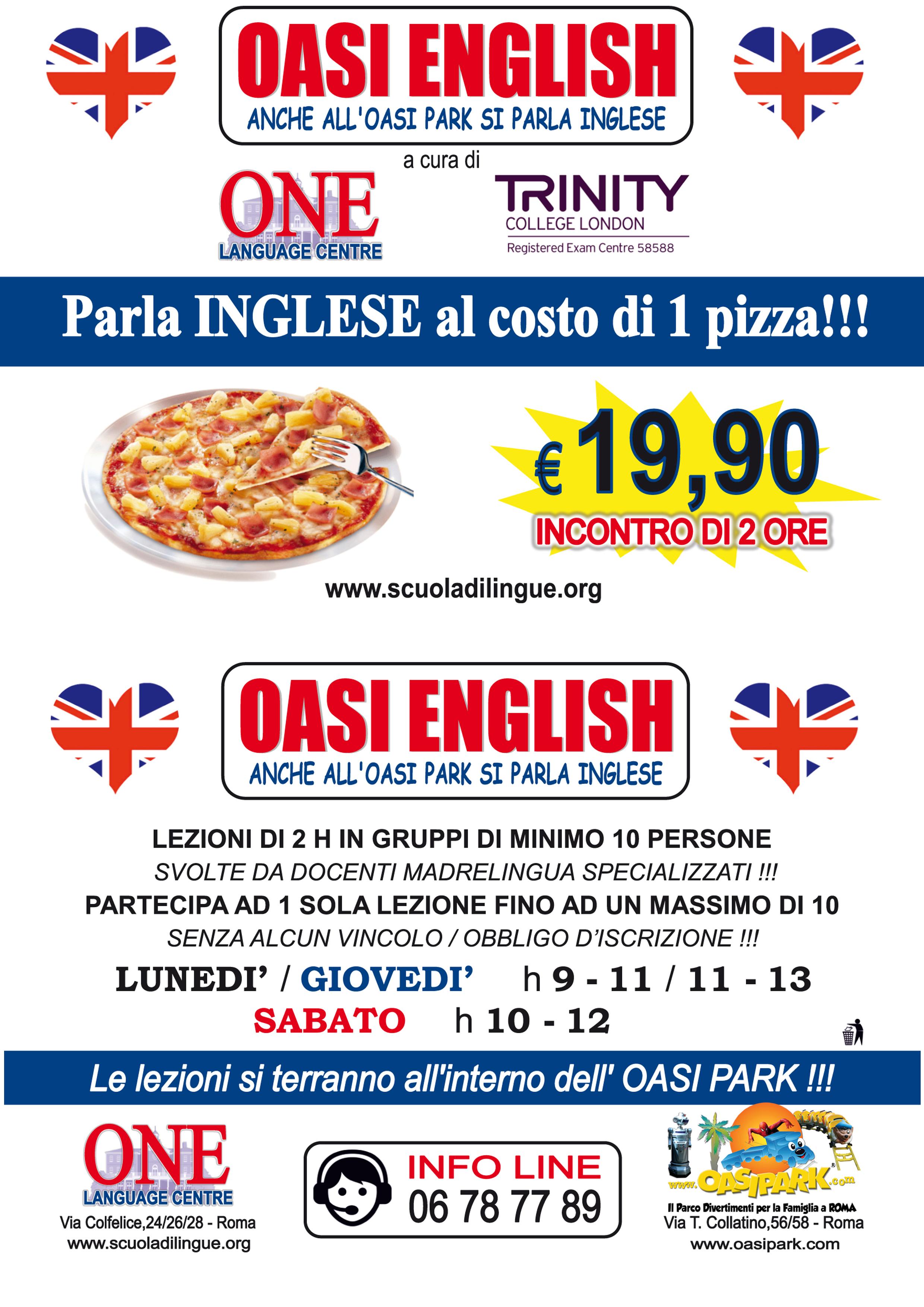 Corsi Di Inglese A Roma A OasiPark