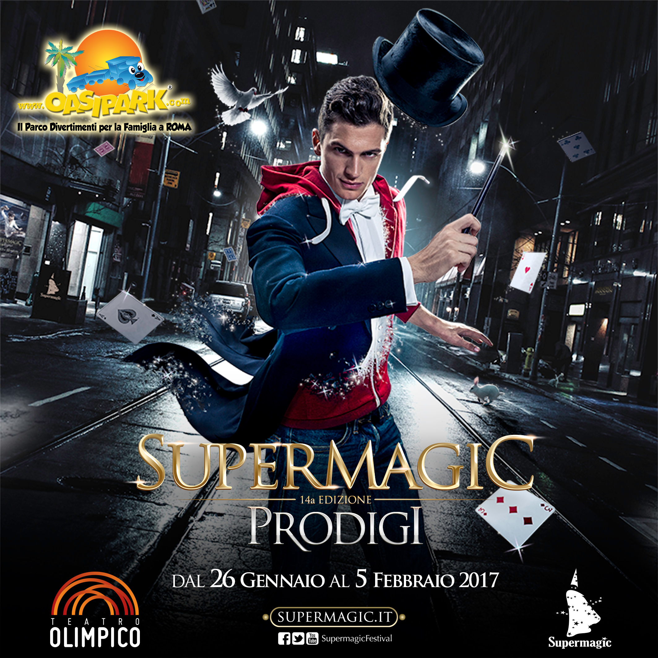 Supermagic 2017 Con OasiPark Divertimento Assicurato
