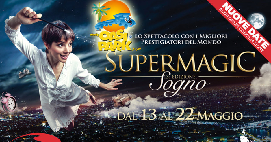 Supermagic Torna A Roma