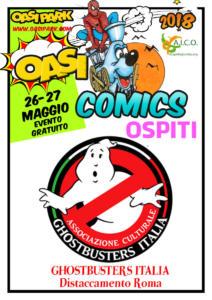 oasi comics Ghostbusters