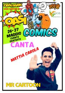 oasi comics Mattia