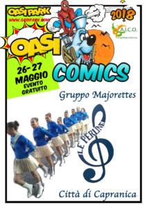 oasi comics Ospiti-Majorettes