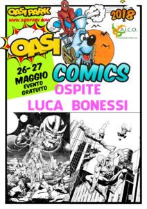 oasi comics OspitiLuca-Bonessi