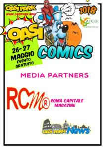 oasi comics Testate