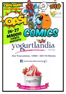 oasi comics Yoghurtlandia